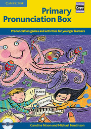 Primary Pronunciation Box | Book and Audio CD Pack