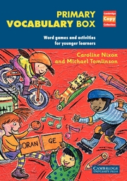 Primary Vocabulary Box: Word Games and Activities for Younger Learners   Paperback