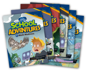 School Adventures 3 | Set of 6 books with CD