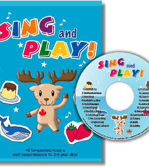 Sing and Play | CD/Craft Book Set