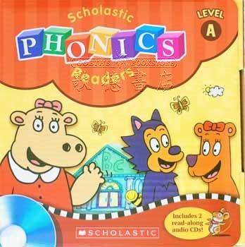 Scholastic Phonics Readers A | 12 Books & 2 CDs