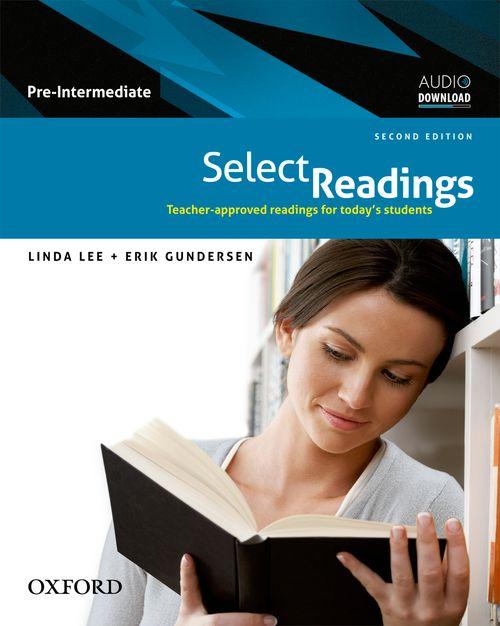 Select readings: pre-intermediate: class audio cd: linda lee.