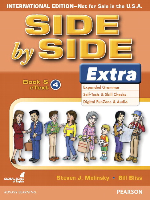 Side by Side 4 Extra Edition | Student Book and eText with CD