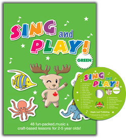 Sing and Play Craft Book | Book with CD