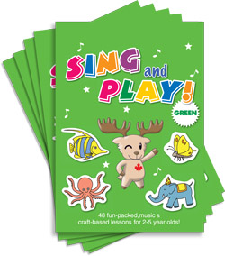Sing and Play Craft Book | 5-Book Pack (without CD)