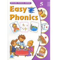 Easy Phonics 5 | Student Book with CD
