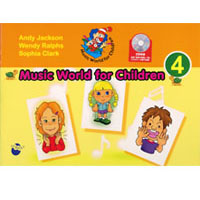 Music World for Children 4 | Book with CD