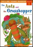 The Ant and the Grasshopper | Level 1 Reader with CD