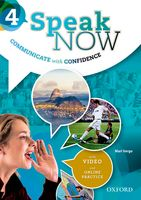 Speak Now: Level 4 | Student Book with Online Practice