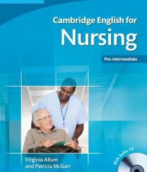 Cambridge English for Nursing Pre-intermediate | Student's Book with Audio CDs