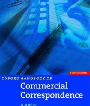 Oxford Handbook of Commercial Correspondence: New Edition    Workbook