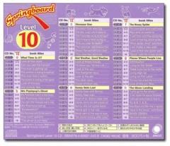 Springboard Level 10 CD
