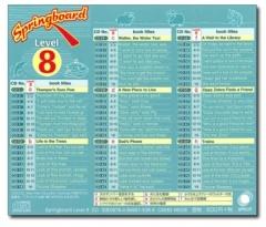 Springboard Level 8 CD
