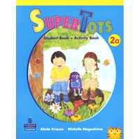 SuperTots 2 | Student Book A with Activity Book pages