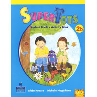 SuperTots 2 | Student Book B with Activity Book pages