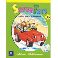 SuperTots 3 | Student Book B with Activity Book pages+CD
