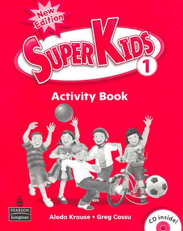 Superkids 2/e Level 1 | Activiy Book with CD