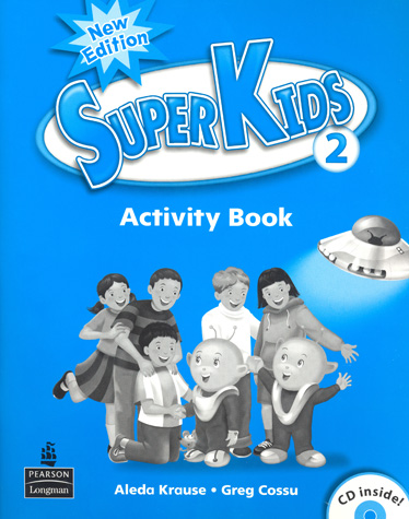 Superkids 2/e Level 2 | Activity Book with CD
