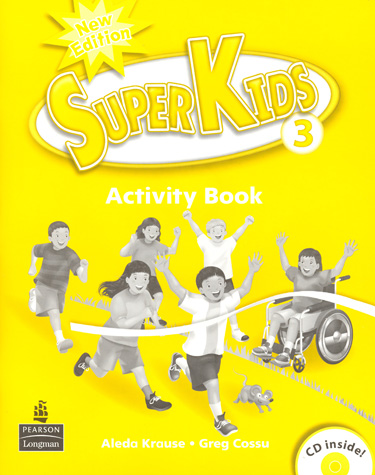 Superkids 2/e Level 3 | Activity Book with CD