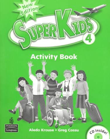 Superkids 2/e Level 4 | Activity Book with CD