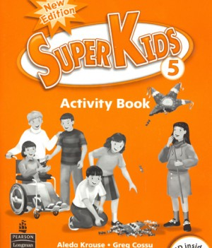 Superkids 2/e Level 5 | Activity Book with CD