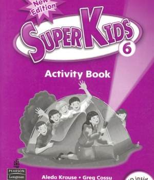 Superkids 2/e Level 6 | Activity Book with CD