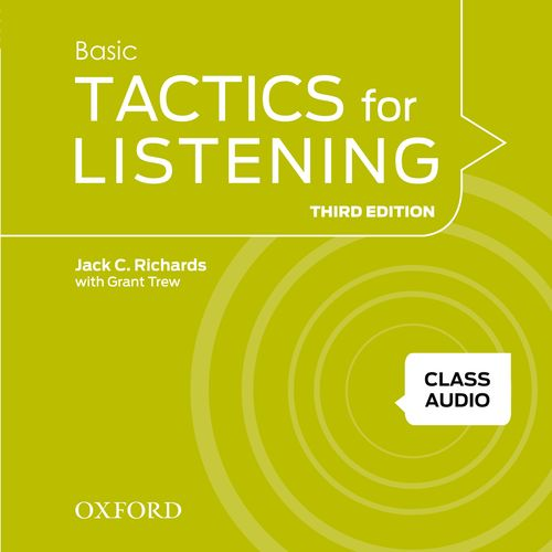 Tactics for Listening Basic | Class Audio