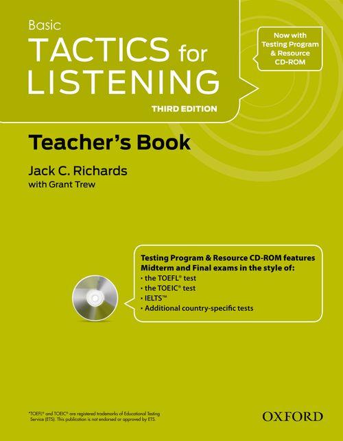 Tactics for Listening Basic | Teacher's Resource Pack