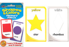 Shapes & Colors Memory Match | Card Game