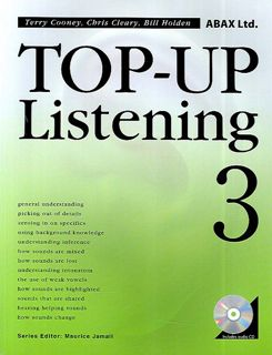 Top-Up Listening 3 Second Edition | Text/Audio CD