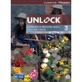 Unlock 3 Listening and Speaking | Teacher's Book with DVD