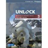Unlock 3 Reading and Writing | Teacher's Book with DVD