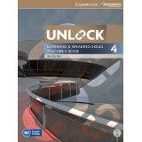 Unlock 4 Listening and Speaking | Teacher's Book with DVD