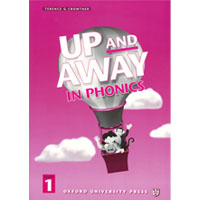 Up and Away in Phonics: Level 1 | Phonics Book with Full Audio CD