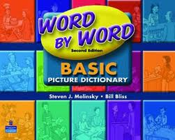 Word by Word Basic Picture Dictionary | Literacy Vocabulary Workbook with CD