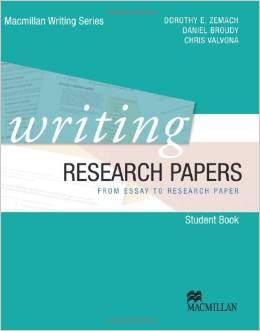 Writing Research Papers  | Student Book