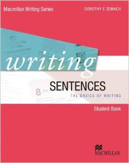 Writing Sentences  | Student Book