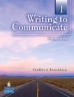 Writing to Communicate 1 | Answer Key
