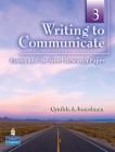 Writing to Communicate 3 | Answer Key