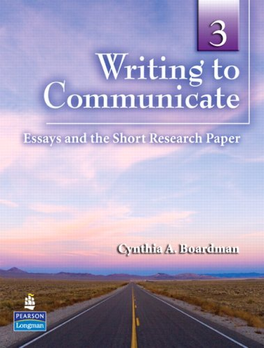 Writing to Communicate 3 | Student Book